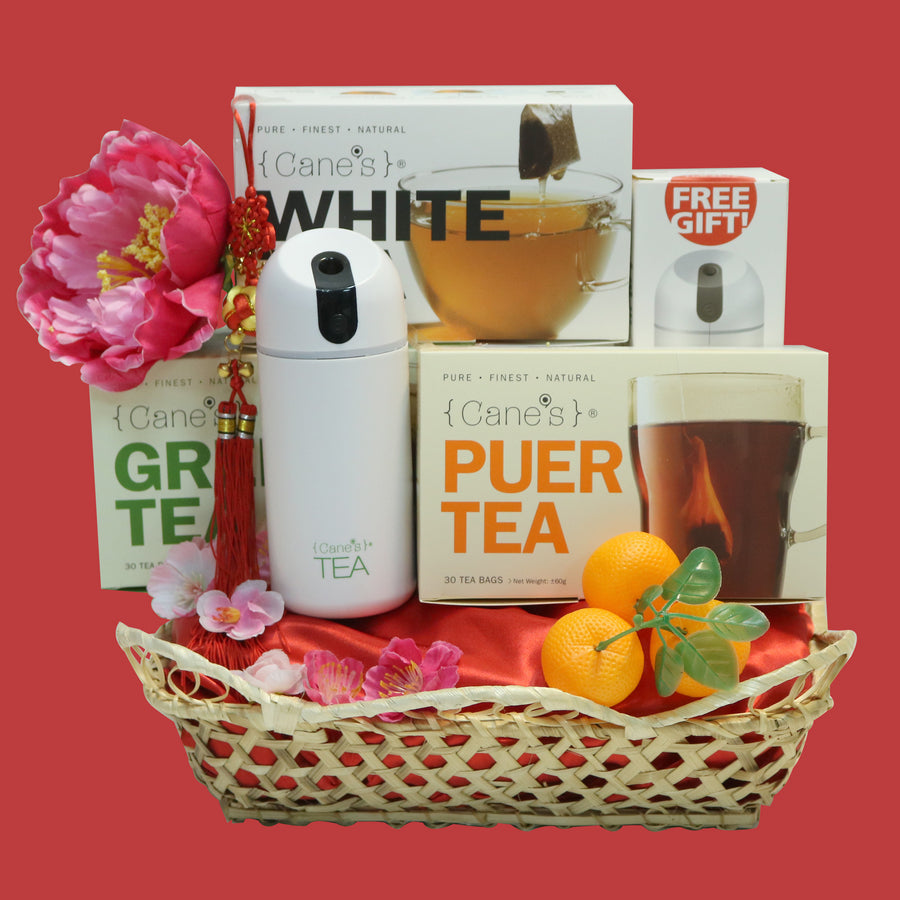 Healthy Gift CNY Tea Hamper