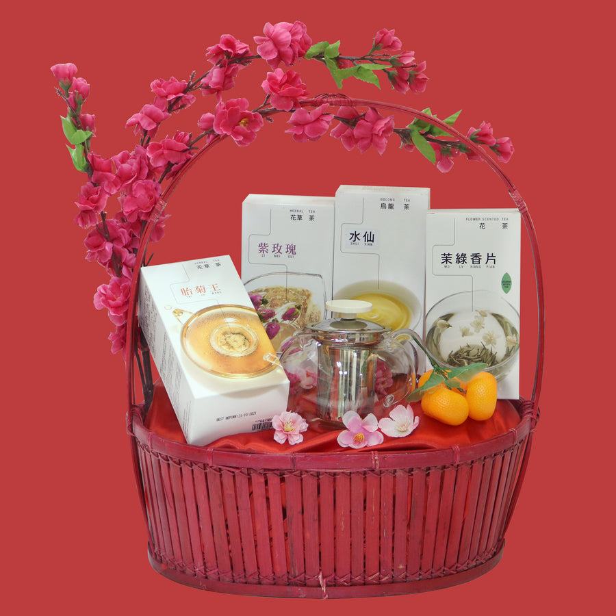 Flourish Gift CNY Tea Hamper (A)