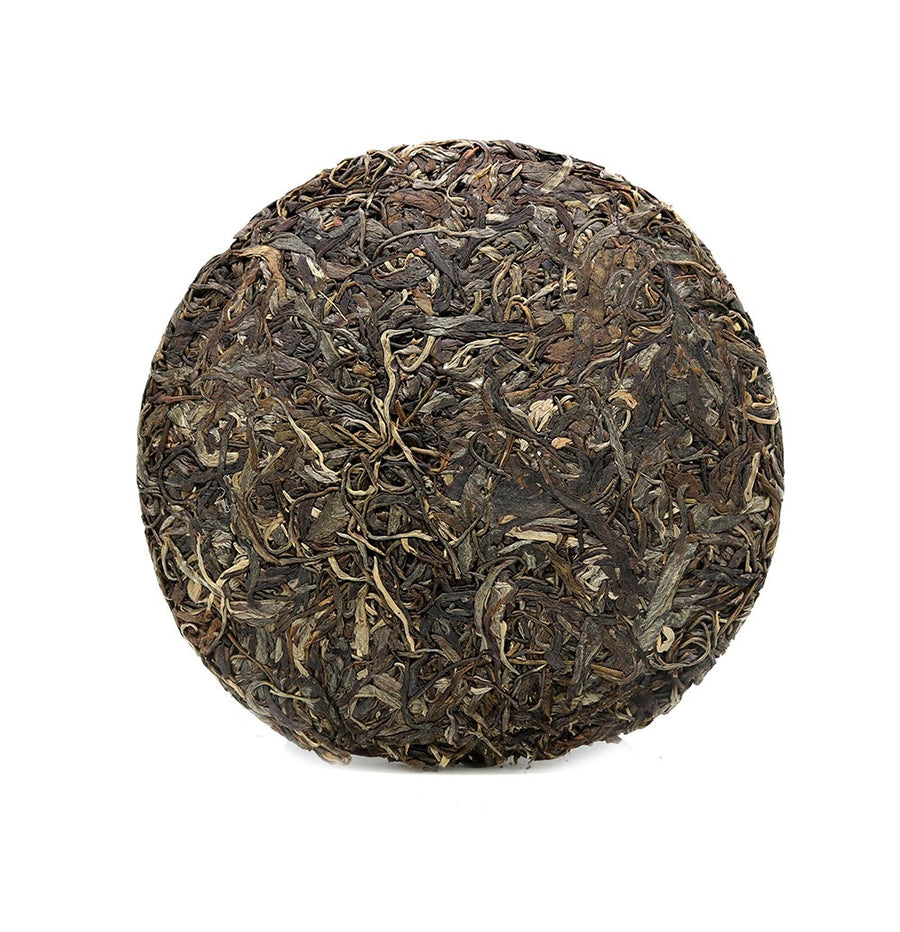 Ding You Chun Jian Green Puer Tea Year 2017 Yunnan (Stack)