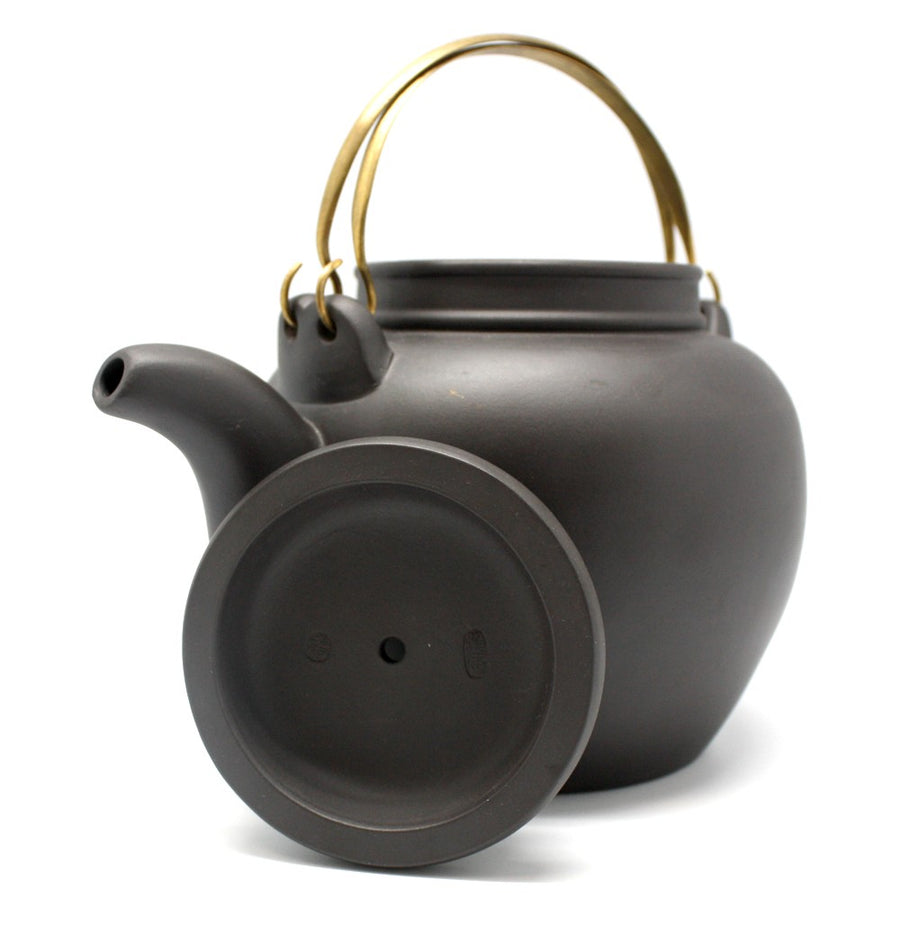 Purple Cane House Brand - Black Clay Shou Xing Teapot