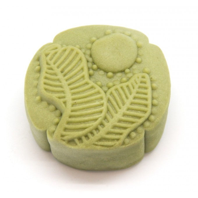 White  Lotus Paste Black Sesame Green Tea Mooncake