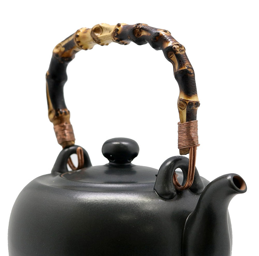 Lin's Ceramics Black Kettle V (1100cc)