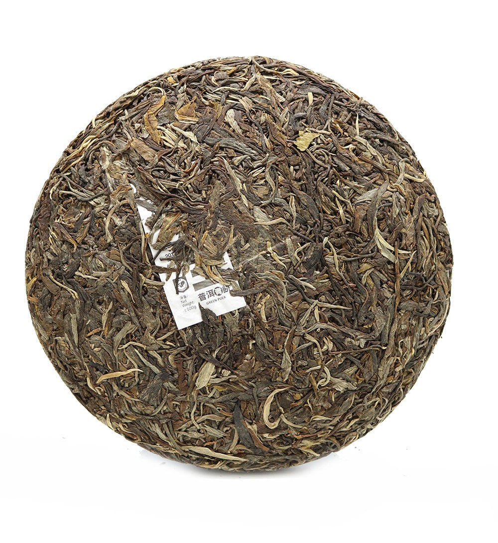 Gu Shu Wang Green Puer Tea Year 2017 Mengku (±500g)