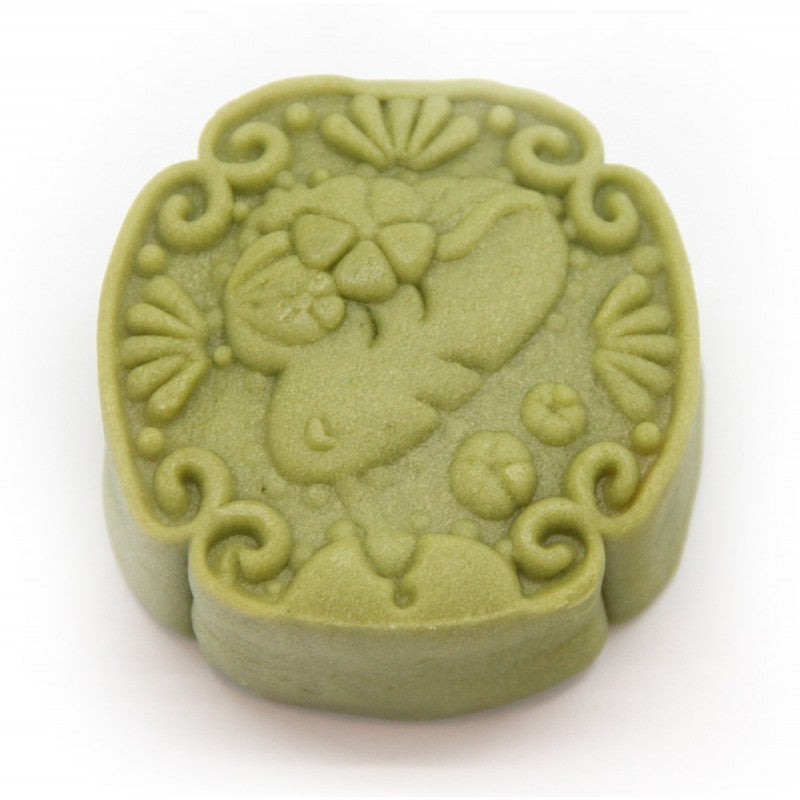 White Lotus Paste Green Tea Mooncake