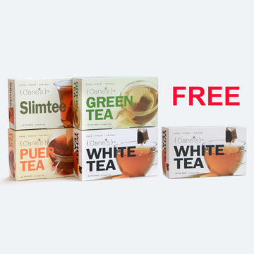Cane's Twin Pack Free Cane's White Tea