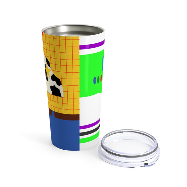 Woody and Buzz Toy Story Tumbler 20oz