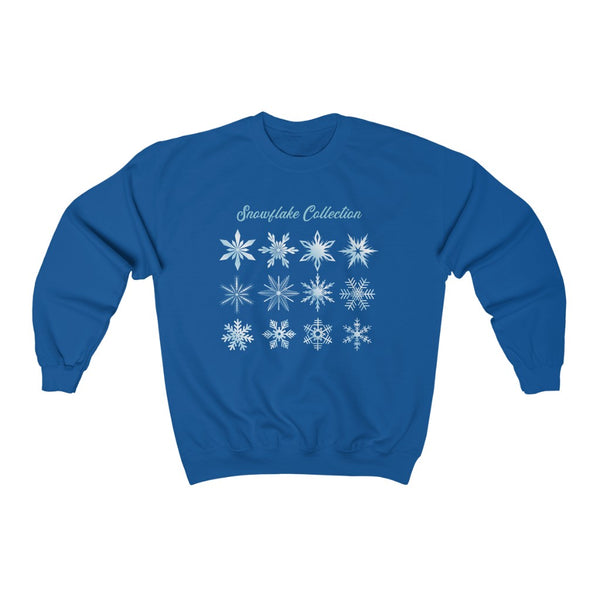The Snowflake Collection Frozen Christmas Crewneck Sweatshirt