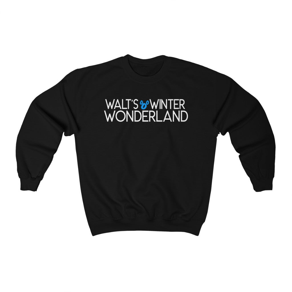 Walt's Winter Wonderland Crewneck Sweatshirt