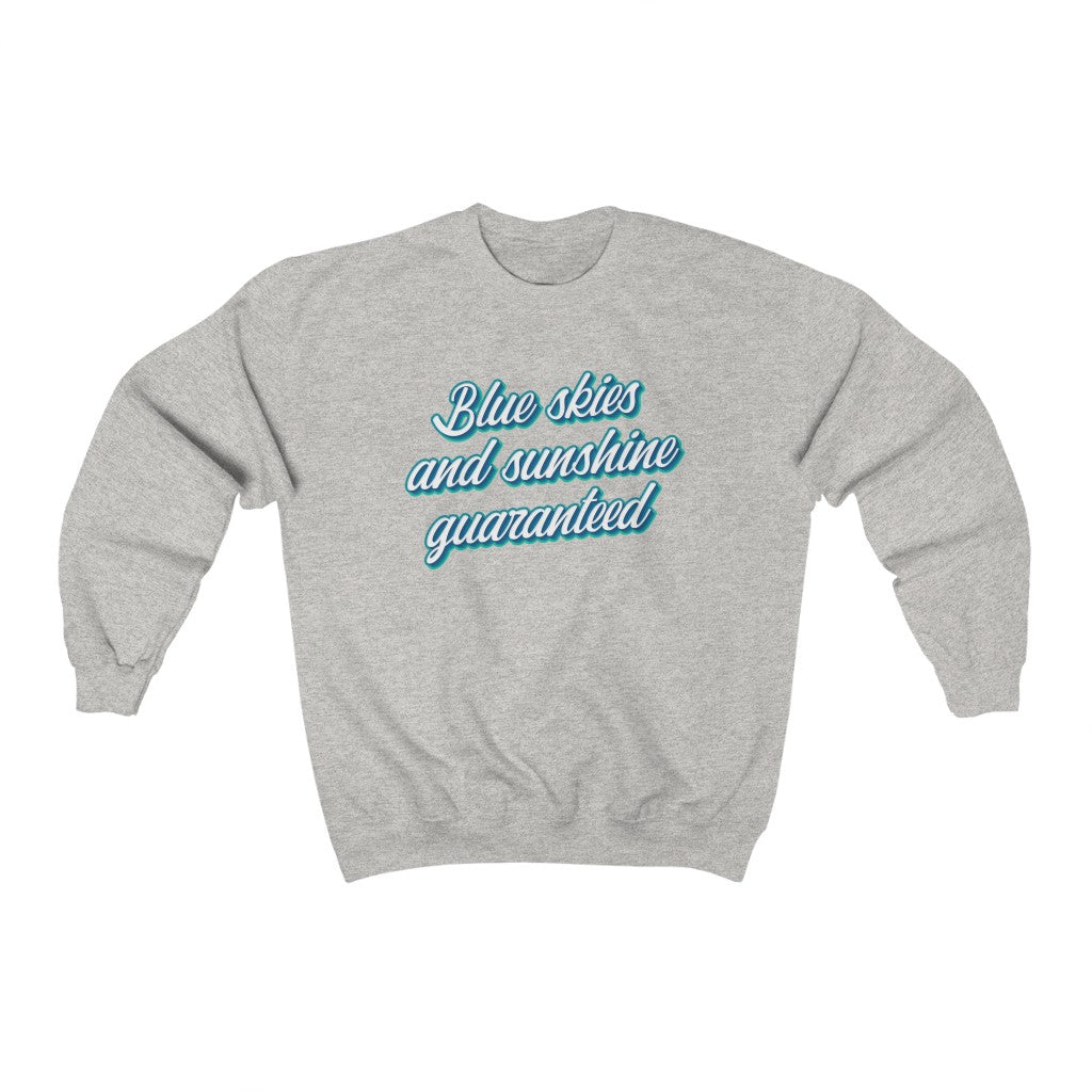 Blue skies and sunshine guaranteed Princess and the Frog Unisex Heavy Blend™ Crewneck Sweatshirt