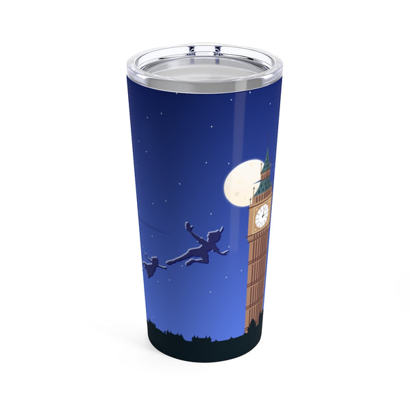 Peter Pan I can Fly Inspired Tumbler 20oz