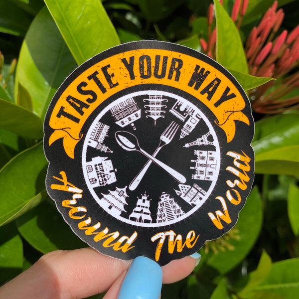 Taste your Way Around the World Epcot Sticker