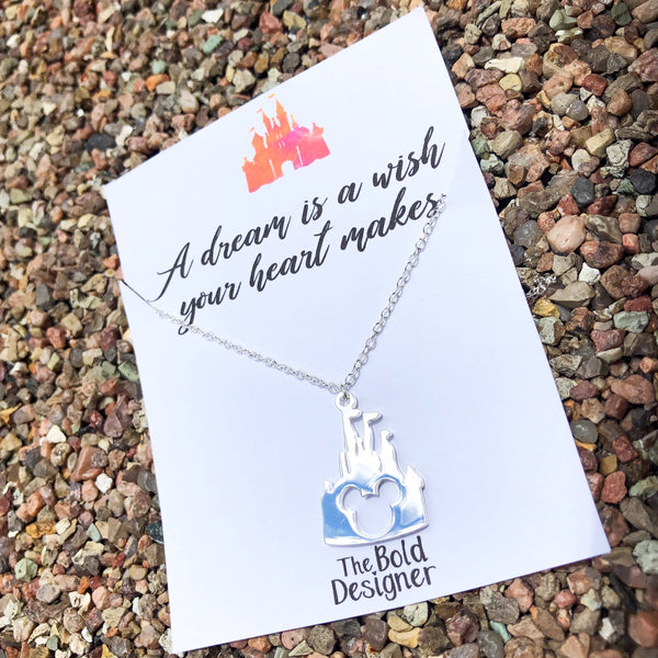 Castle Stainless Steel Necklace