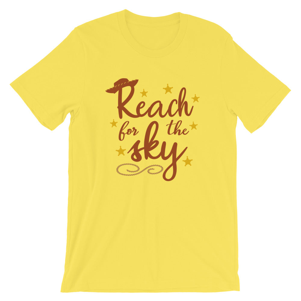 Reach for the sky Toy Story Woody Shirt