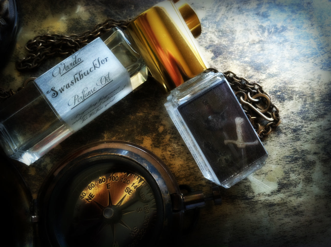 SWASHBUCKLER PERFUME OIL - Dark Rum Charred Oak Leather Plum Bergamot Amber Patchouli