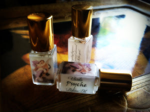 PSYCHE PERFUME OIL ~ Narcissus Jasmine Blood Orange Peach Honey Musk