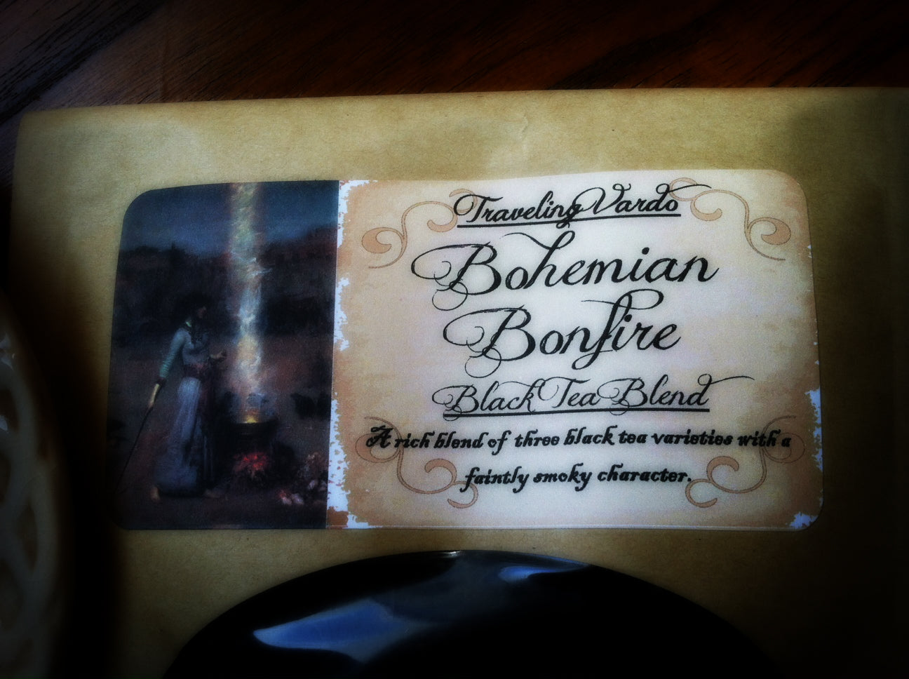 BOHEMIAN BONFIRE ~ Premium Black Tea Blend