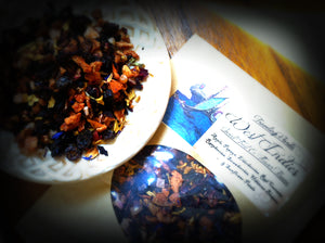 WEST INDIES ~ Premium Fruit and Flower Herbal Tea Raspberry Currant Papaya
