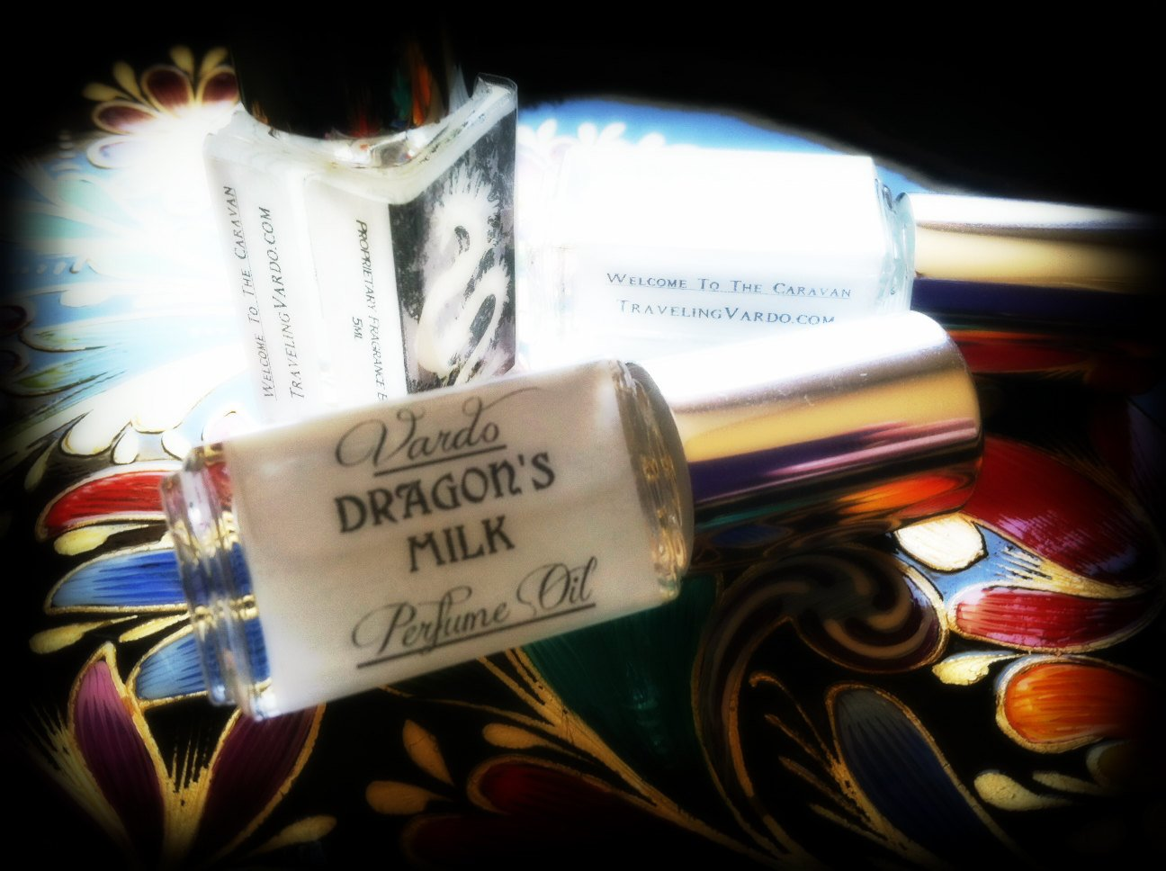 DRAGON'S MILK PERFUME OIL ~ Dragon's Blood Amber Vanilla Sandalwood Musk Milk Cream