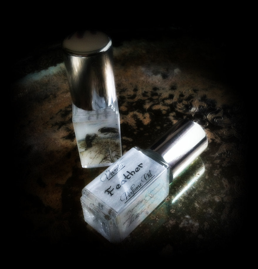 FEATHER PERFUME OIL ~ White Musk
