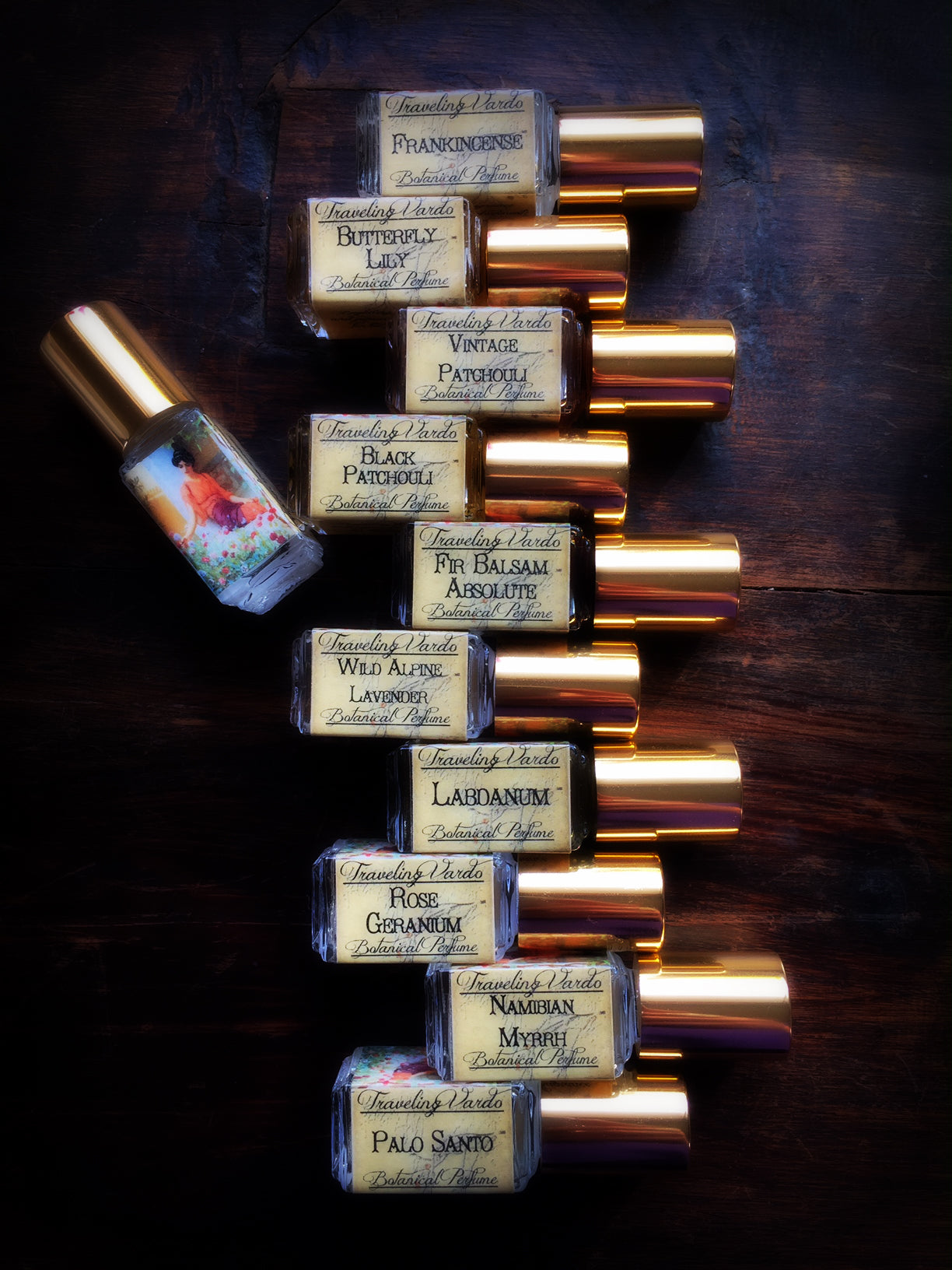 FRANKINCENSE ~ Single Note Botanical Oil ~ 5ml Roll On