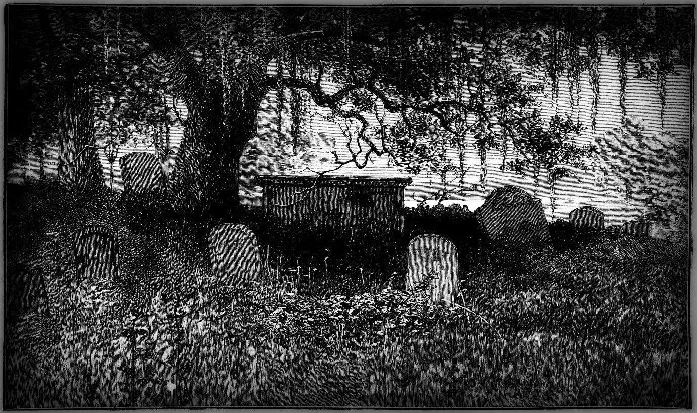 GARDEN OF GRAVES ~ Halloween Gothic Perfume Oil - Chill Night Air Damp Earth and Stone Oud Wood Wilted Rose Gardenia