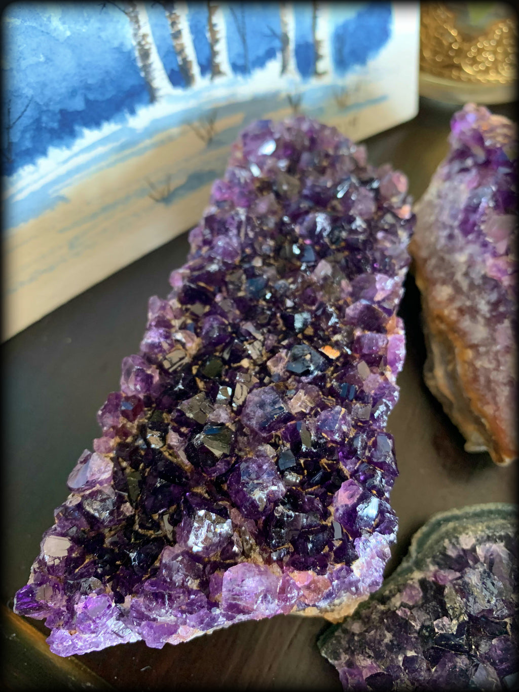 AMETHYST CRYSTAL CLUSTER ~ For Clarity, Dream Work, and Spiritual Development