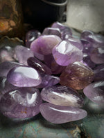 AMETHYST TUMBLED CRYSTAL ~ For Clarity, Dream Work, and Spiritual Development