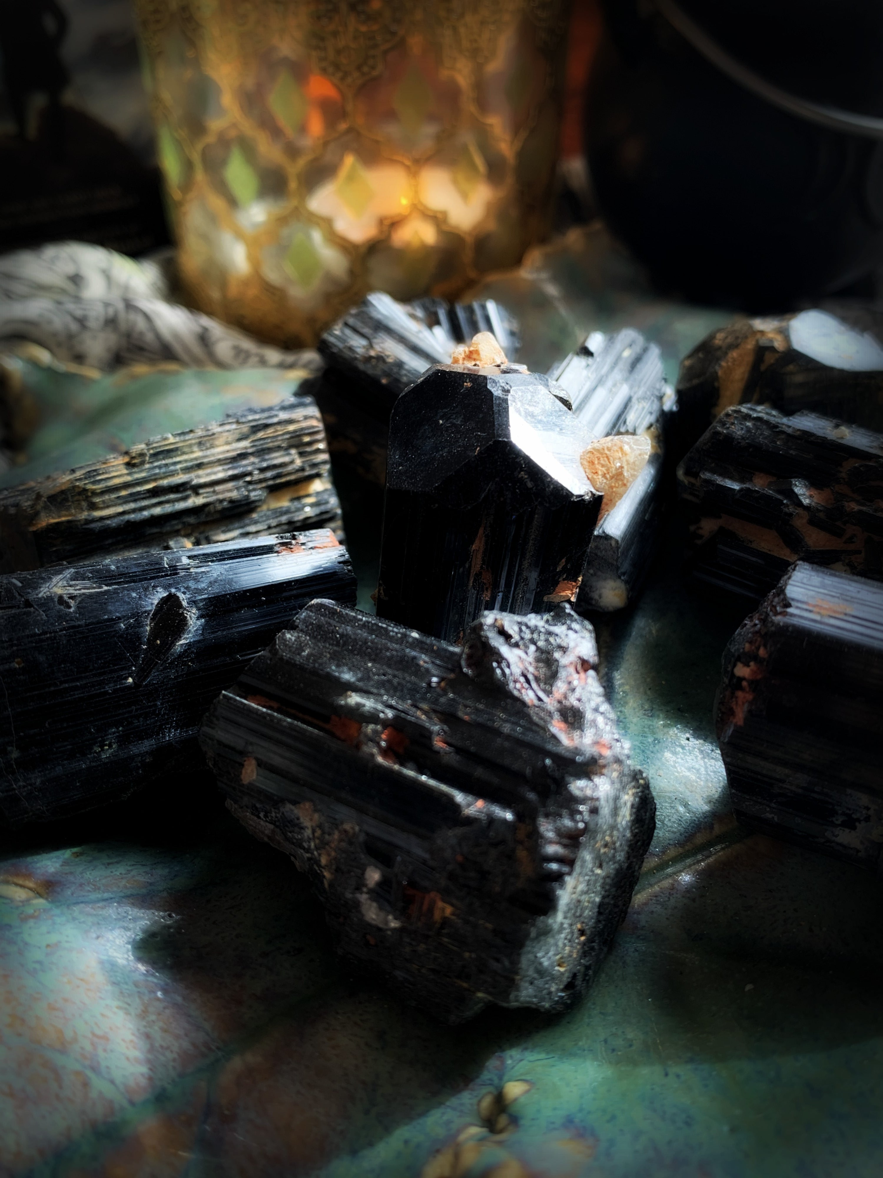 BLACK TOURMALINE ~ For Grounding Spiritual Energy and Transmuting Negative Thought Patterns
