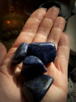 SODALITE TUMBLED CRYSTAL ~ For Spiritual Perception and Deepening Meditation