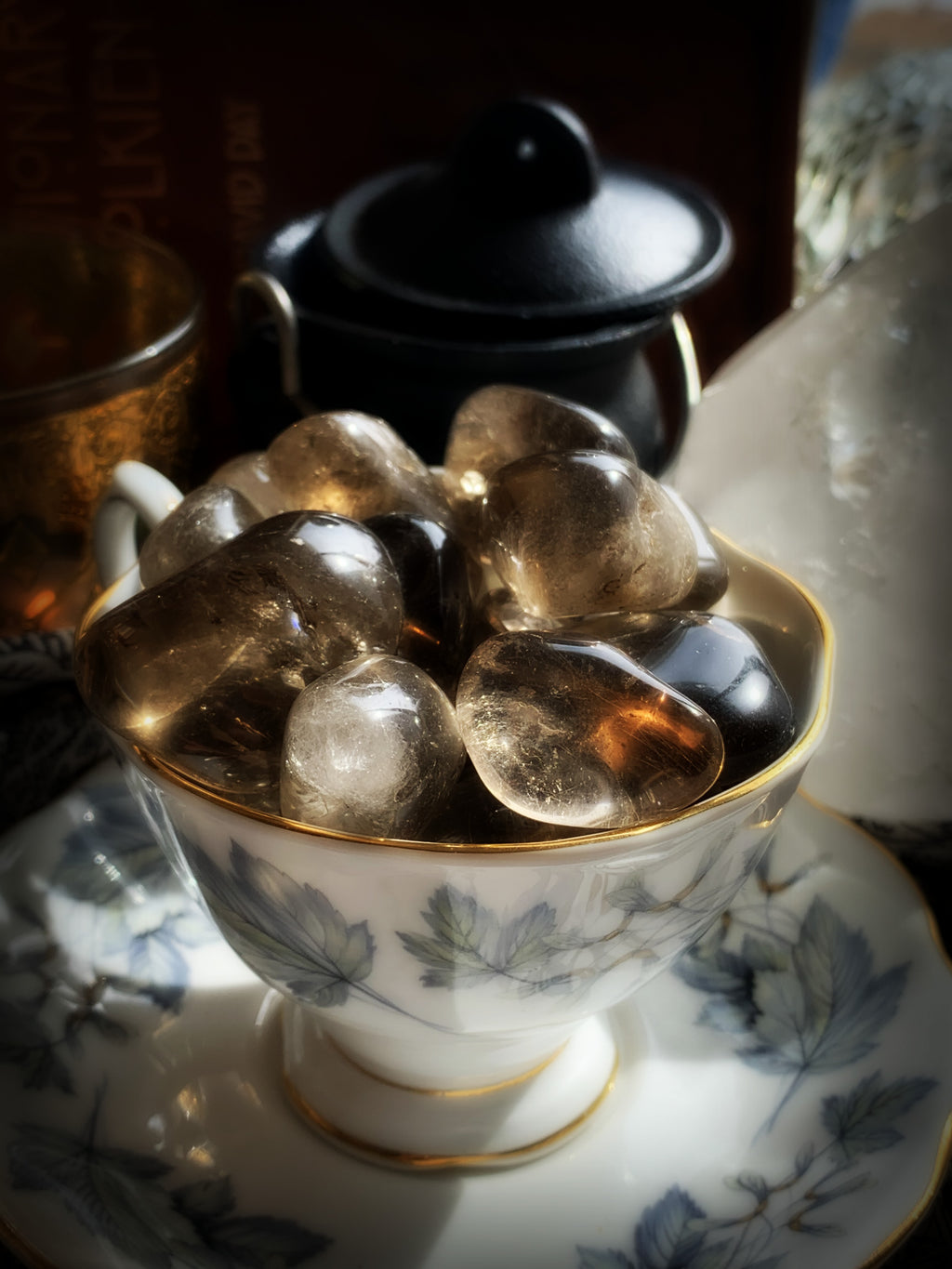 SMOKY QUARTZ TUMBLED CRYSTAL ~ For Grounding and Cleansing Negativity