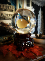 CRYSTAL GAZING GLOBE ~ For Scrying and Spirit Connection