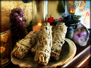 WHITE SAGE BUNDLES ~ For Purification, Meditation, and Ritual