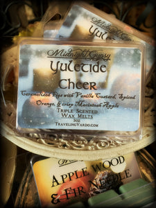 YULETIDE CHEER ~ Highly Fragranced Soy Blend Wax Tarts