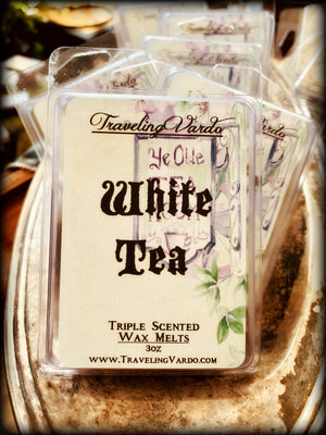 WHITE TEA ~ Highly Fragranced Soy Blend Wax Tarts