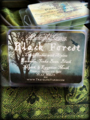 BLACK FOREST ~ Highly Fragranced Soy Blend Wax Tarts