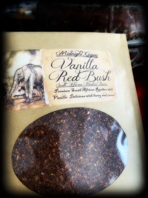 VANILLA RED BUSH ~ Premium South African Rooibos with Vanilla