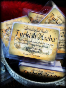 TURKISH MOCHA ~ Highly Fragranced Soy Blend Wax Tarts