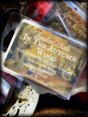 IN THE AUTUMN WOOD ~ Highly Fragranced Soy Blend Wax Tarts