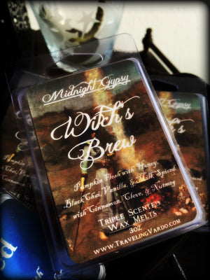 WITCH'S BREW ~ Highly Fragranced Soy Blend Wax Tarts