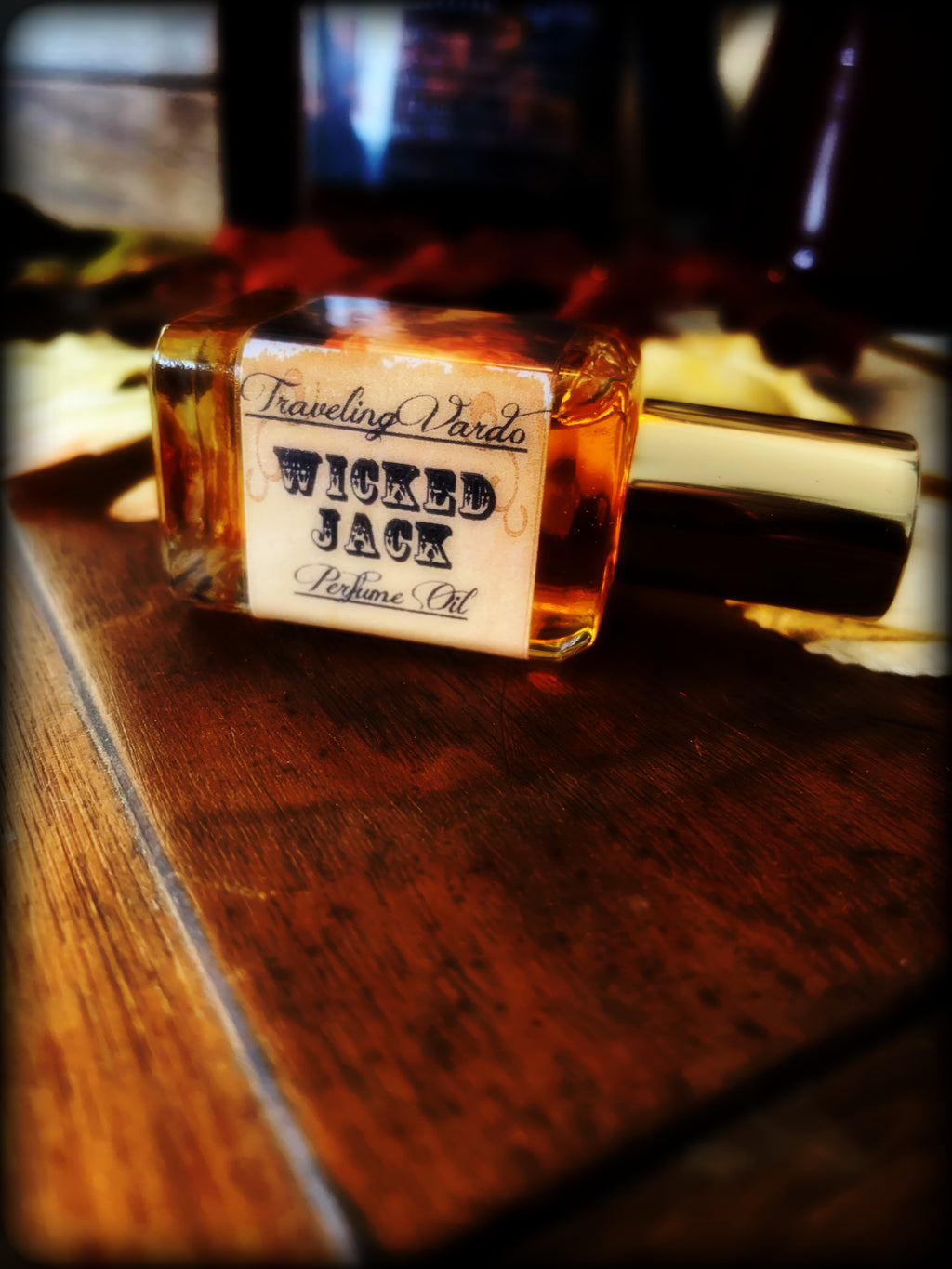 WICKED JACK PERFUME OIL ~ Seasonal Release ~ Pumpkin Blood Orange Ginger Cloves Vanilla Cream Caramelized Sugar