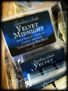 VELVET MIDNIGHT ~ Highly Fragranced Soy Blend Wax Tarts