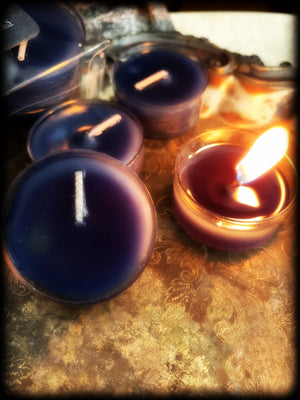 VELVET MIDNIGHT ~ Hand Poured Highly Fragranced Tealight Candles