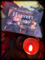 HARVEST SEASON ~ Hand Poured Highly Fragranced Tealight Candles