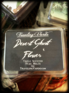 DESERT GHOST FLOWER ~ Highly Fragranced Soy Blend Wax Tarts
