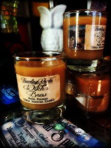 WITCH'S BREW ~ Hand Poured Highly Fragranced Votive Jar Candle