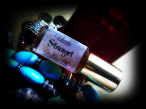STRUMPET PERFUME OIL ~ Moroccan Rose Clove Spiced Amber Vanilla Musk Cake