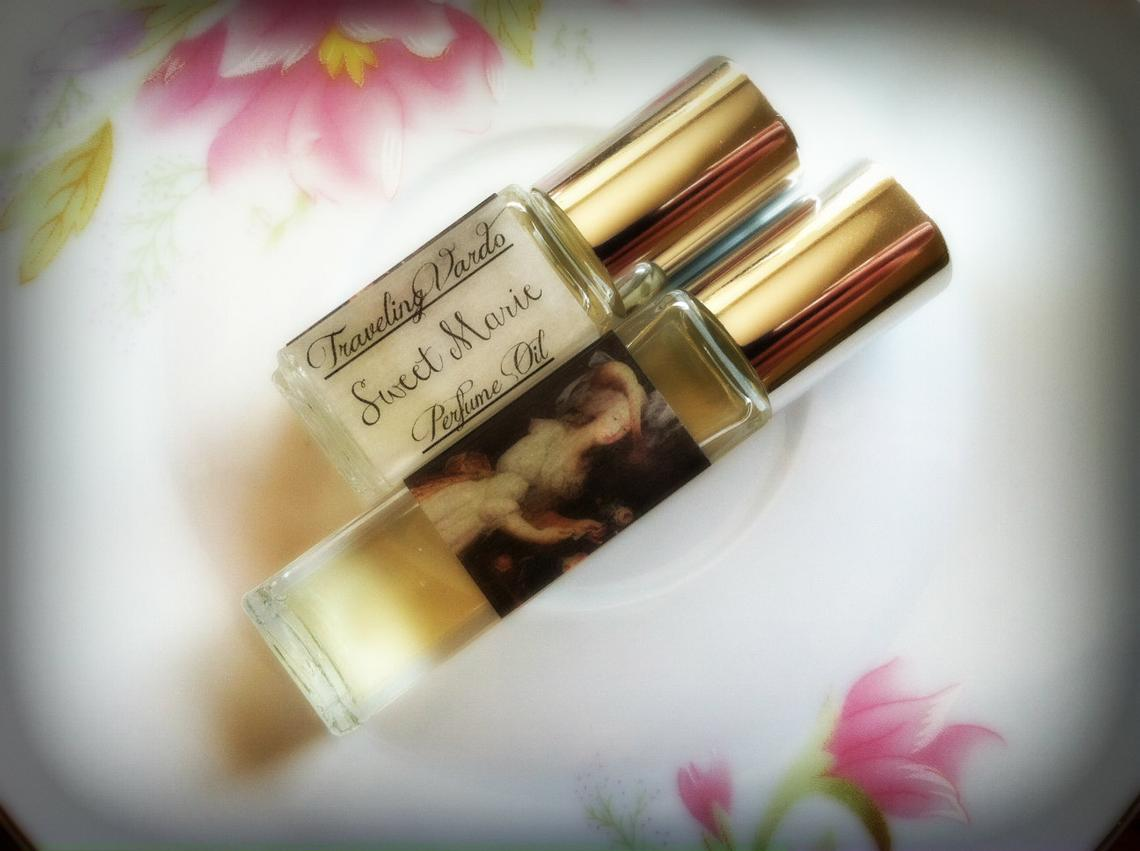 SWEET MARIE PERFUME OIL ~ Vanilla Orchid Yellow Cake Sugar Cane Coconut Milk White Musk