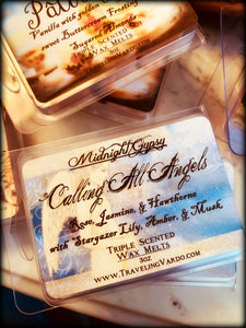 CALLING ALL ANGELS ~ Highly Fragranced Soy Blend Wax Tarts