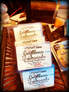 CARIBBEAN TRADEWINDS ~ Highly Fragranced Soy Blend Wax Tarts