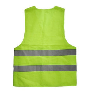 Unisex Reflective Hi Vis Work Safety Vest (XL - 3XL)